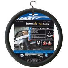 Sumex Car+ Soft Grip Steering Wheel Sleeve Cover - Luxe Black