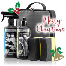 E-Tech Amazing Wheels & Tyres Car Care Kit Gift Set