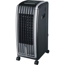 Schallen Portable Modern 6.5L 4-in-1 Air Cooler, Fan Heater, Air Purifier & Humidifier - BLACK