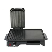 Schallen Black 2 in 1 Versatile Grill Griddle and Hot Plate Cooking Grilling Machine