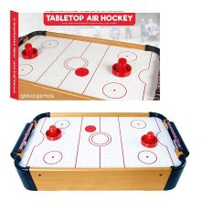 Global Gizmos Portable Indoor Sports Tabletop Table Air Hockey Game