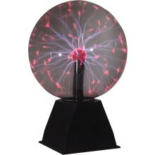 "Netagon 8"" Retro Lightning Effect Contact Sensitive Round Globe Lamp Plasma Ball Light"
