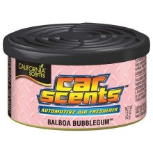 California Scents Car & Home Long Lasting Tin Air Fresheners - BILBAO BUBBLEGUM