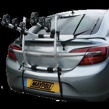 Maypole 3 Bike High Rear Car Boot Mounted Bike Holder Cycle Carrier