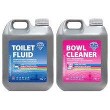 Blue Diamond Super Effective Toilet Fluid and Refreshing Bowl Cleaner - TWIN PACK