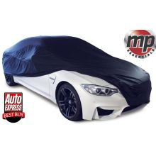 MP Essentials Soft Breathable Fabric Indoor, Garage & Showroom Full Car Cover - BLACK