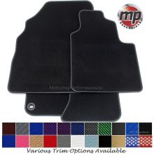 Tailored for a Perfect Fit Black Carpet Car Floor Mats - Please include your vehicle registration and they will be cut to fit.