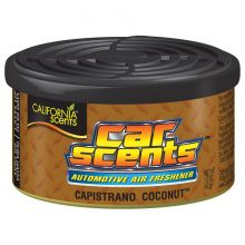 California Scents Car & Home Long Lasting Tin Air Fresheners - CAPISTRANO COCONUT
