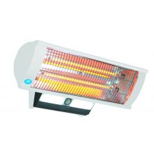 Prem-i-air 2.3 kW Calor-Luz Wall Mounted Patio Heater with Light, Remote Control and Sensor