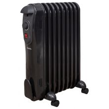 Schallen 9 Fin 2000W Oil Filled Radiator - Black