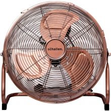 Schallen Metal High Velocity Cold Air Circulator Adjustable Floor Fan - COPPER