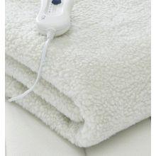 Schallen Premium Comfort Fleece Electric Heated Blanket, Remote Control with 3 Heat Settings