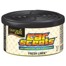 California Scents Car & Home Long Lasting Tin Air Fresheners - FRESH LINEN