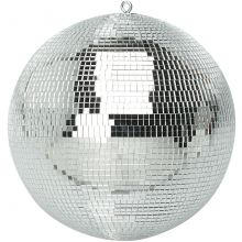 Lightweight Silver Dance Disco Party DJ Mirror Ball