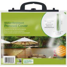 All Season Water Resistant Outdoor Garden Patio Umbrella Parasol Cover in Green