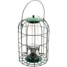 Hanging Squirrel Resistant Bird Feeder Feeding Station for Seeds & Nuts