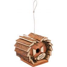 Garden Outdoor Traditional Twist Rustic Hanging Handmade Bird House