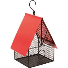 Garden Outdoor Hanging Bird House Style Bird Feeder for Feeding Nuts and Seeds
