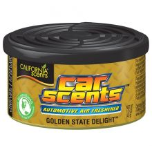 California Scents Car & Home Long Lasting Tin Air Fresheners - GOLDEN STATE DELIGHT