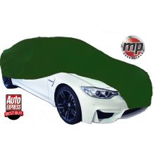 MP Essentials Soft Breathable Fabric Indoor, Garage & Showroom Full Car Cover - GREEN