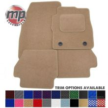 Tailored for a Perfect Fit Beige Carpet Car Floor Mats - Please include your vehicle registration and they will be cut to fit.