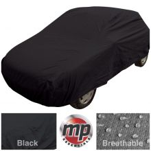 Streetwize Black Indoor & Outdoor Frost Rain Sun Protection Breathable Full Car Cover