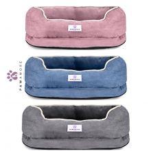Pawamore Memory Foam Pet Orthopaedic Comfort Calming Nest Sofa Cat Dog Bed