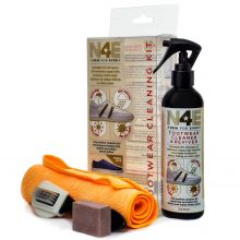 N4E Shoes Footwear Cleaner, Restorer & Reviver Care Cleaning Kit