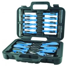 Streetwize 58pc Screwdriver and Bit Set in Tool Case