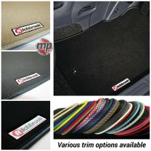 Tailored for a Perfect Fit 'Richbrook' Premier Carpet Car Floor Mats - Please include your vehicle registration and they will be cut to fit.
