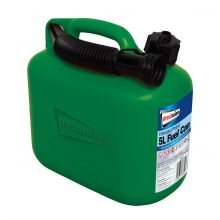 Streetwize 5L Plastic Jerry Fuel Can Container and Funnel for Petrol