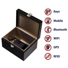 Large Black Faraday Box - Anti Theft Car Key Signal Blocker Cage