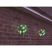 Gardenwize Garden Porch Yard 23cm Solar LED Light Hanging Bay Balls Basket