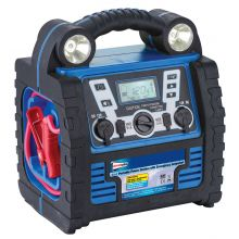 Streetwize 900A 6-In-1 Jump Starter with 12V Air Compressor, Light & Battery Charger